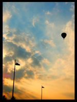 Hot air ballon by Schneeengel