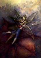 Tom Thumb and his Fairy Prince by neshad