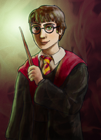 Harry Potter by sqbr