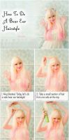 Bear Ears Hair Style Tutorial by VioletLeBeaux