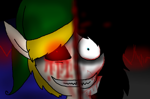 Ben Drowned 'nd Jeff the Killer. by InsaneCuteKitty
