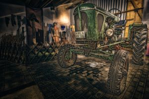 Tractor by oberfoerster