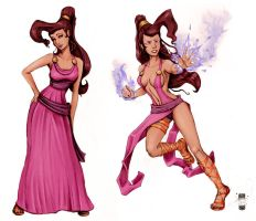 Megara Again by steevinlove