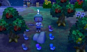 ACNL - An Unexpected Ore Rock by LatinNewYorker