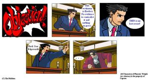 Phoenix Wright: Last Resort by XinMakima