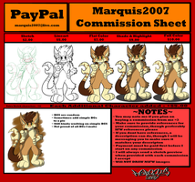 Commission Sheet Update by Marquis2007