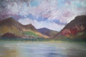 Lake at Loweswater by meeart