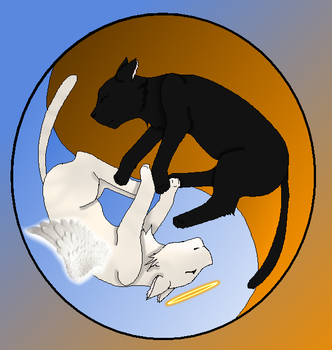 Sylvester And Gibson (2010 - 2016) Yin Yang by rainieandtoottoot