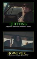 Quitting Motivational Poster by QuantumInnovator