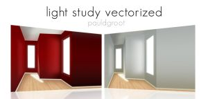 LIGHT STUDY VECTORIZED by pauldgroot