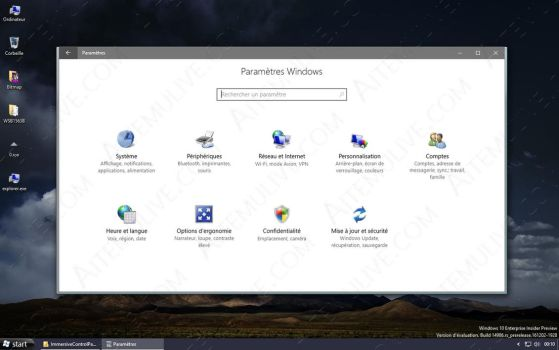 Colorfull ControlPanel - Windows 10 14986 by AtheneRa