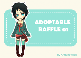 [CLOSED]  Adoptable raffle 01 by Aritsune-chan