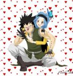 Gajeel x Levy by Fun-Cat