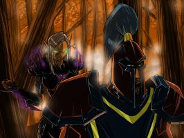 Rogues do it from behind by kagato007