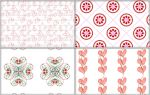 Valentine Patterns by cazcastalla