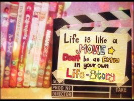 Life is like a movie by Demachic