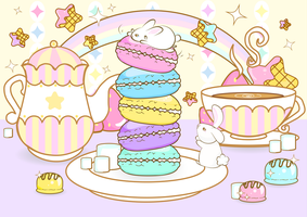 Sweet Tea Party by WhippedCreamCake