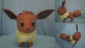 Eevee Official pic by Carageomodels