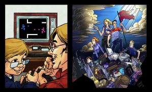 Evolution of Gamers by kidchuckle