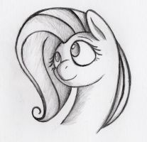 Fluttershy face by otto720