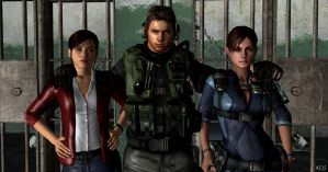 Revelations : Bsaa and Terrasave heroes by Mister-Valentine