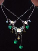 Buterfly Necklace by beeyeeflo
