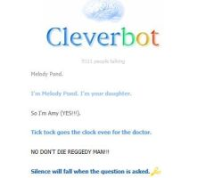 Doctor who Cleverbot by evyboss103