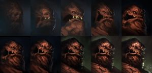 Clayface Process by jameszapata