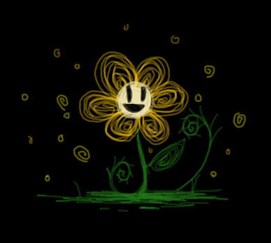 That First Golden Flower | UNDERTALE by Soursopful