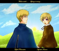 APH - End of Winter by miyaotohime