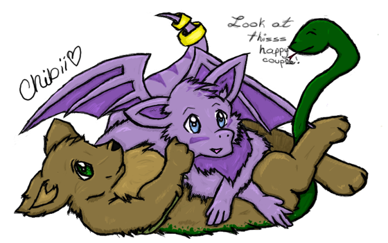 Saba and Gasi by ChibiiCherry