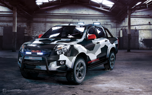 Isuzu D-Max Urban by GoodieDesign