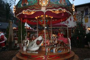 old carousel closer by ingeline-art