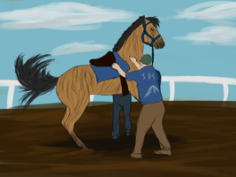 Fight Club Derby Training by patchesofheaven74