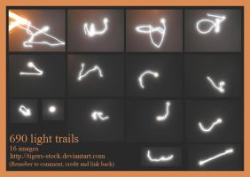 690 Light Trails by Tigers-stock