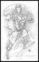 Iron Man by caananwhite