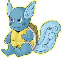 Seashell the Wartortle :sticker: by ColorMyMemory