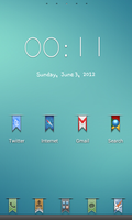 Minimal Theme Go Launcher Ex Android by tochpcru
