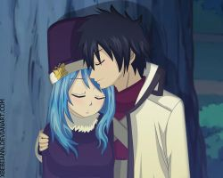 Gray and Juvia - Fairy Tail by xBebiiAnn