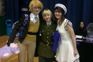 higurashi and hetalia- sunnycon 2012 by AutumnLegend