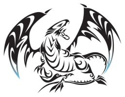 Blue Eyes White Dragon by aznfirestarter