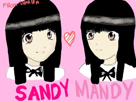 Sandy And Mandy FanArt by FizLovesManga