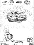 Cookie MonsterMonster Cookie by thecymbalwench