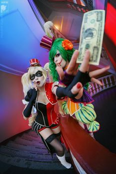 A million dollars cosplay by Ryoko-demon