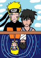 Naruto and Inari..who we used to be by Fran48