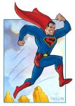 The Fleischer Studios SUPERMAN by mengblom