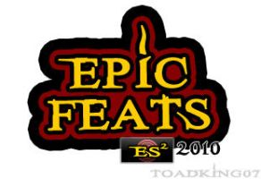 Epic Feats Logo by toadking07