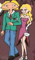 Hey Arnold Prom Date by stephiesy