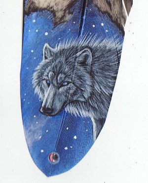 Star Wolf Starfeather Detail by Goldenwolf
