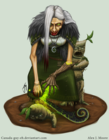 Cannibal Crone by Canada-Guy-Eh